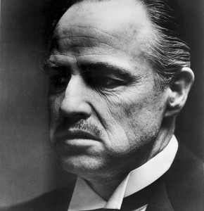 Marlon Brando The Godfather (DR)