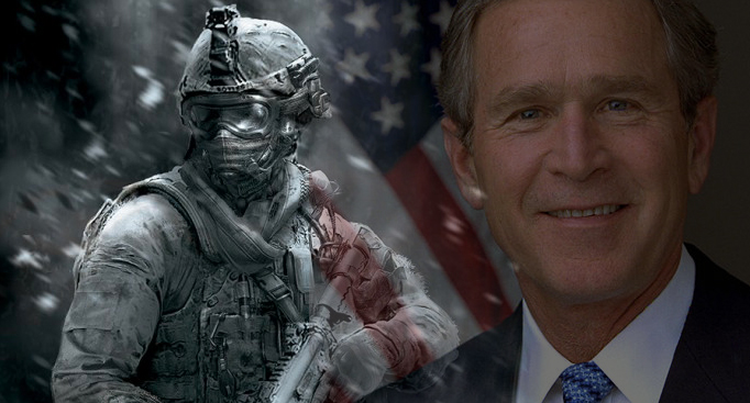 Call of Duty Modern Warfare 2, 550 M$ de recettes : le triomphe à retardement de l'ère Bush (1ère partie)