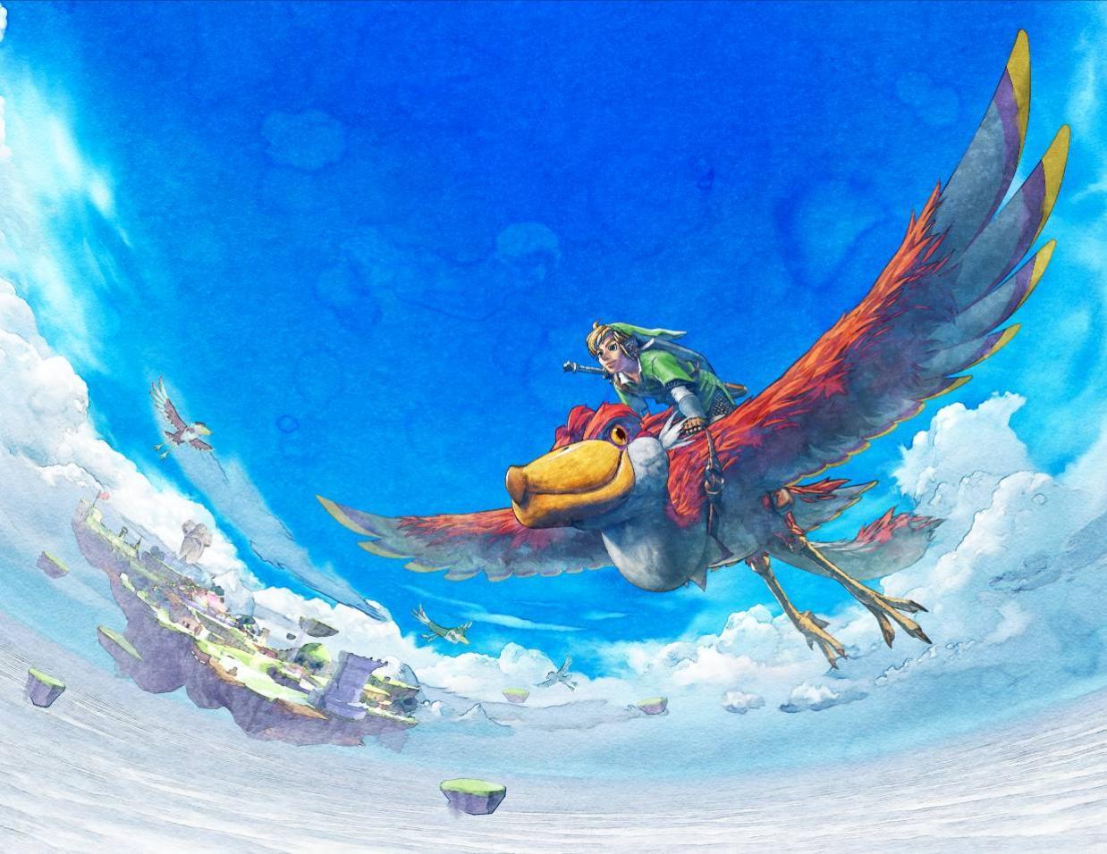 Zelda : Skyward Sword… De main de maître