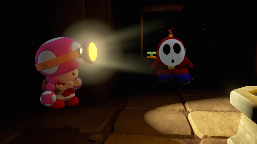 Captain Toad : Treasure Tracker : Mise en boite Nintendo
