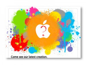 Apple iPad launch logo