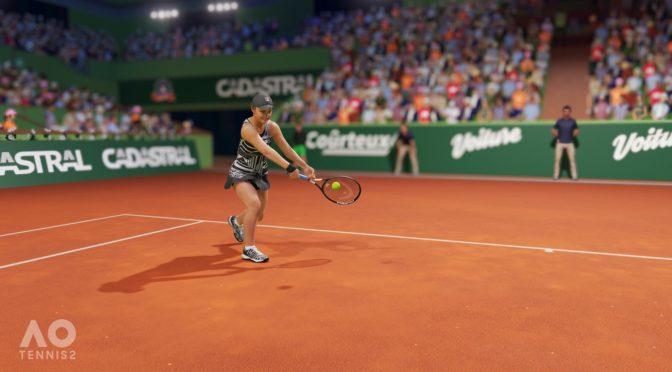 AO Tennis 2 : Sur la ligne