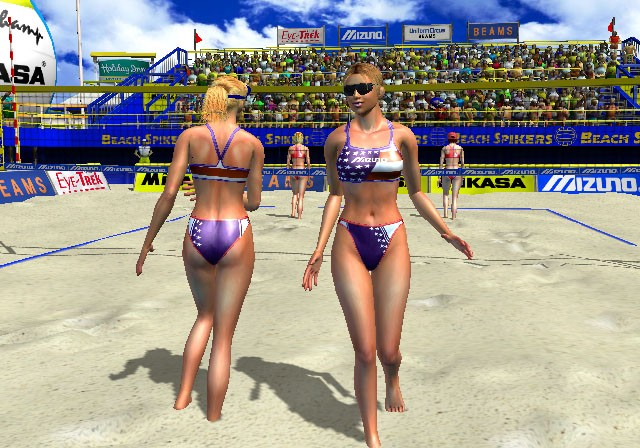 Beach Spikers : VIRTUA BABES