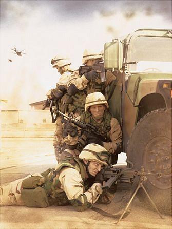 Full Spectrum Warrior : Les tics de la guerre