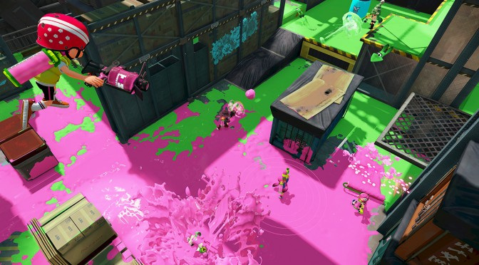 Splatoon : Couleurs Sega