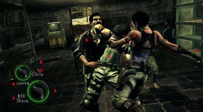 Screenanalysis : Resident Evil 5 / Uncharted 2